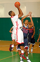 April 9, 2011 - Hampton, VA. USA; Delvin Dickerson participates in the 2011 Elite Youth Basketball League at the Boo Williams Sports Complex. Photo/Andrew Shurtleff