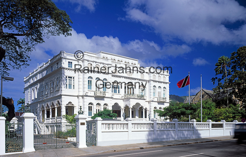 """Trinidad & Tobago, Commonwealth, Trinidad, Port of Spain: White Hall, Prime Minister's office and one of the """"7 Magnificent Buildings"""""""