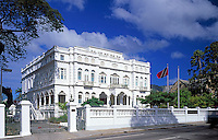 "Trinidad & Tobago, Commonwealth, Trinidad, Port of Spain: White Hall, Prime Minister's office and one of the ""7 Magnificent Buildings"""