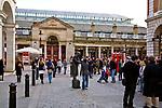 Londyn 2009-10-24. Covent Garden Market