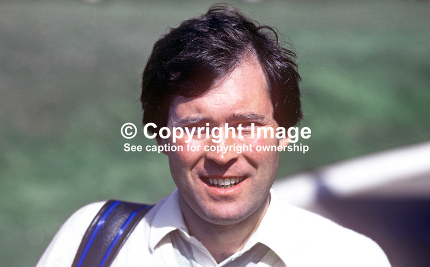 Michael Malone, golfer, professional, Belvoir Park, Belfast, N Ireland,  19820400050MM.<br />