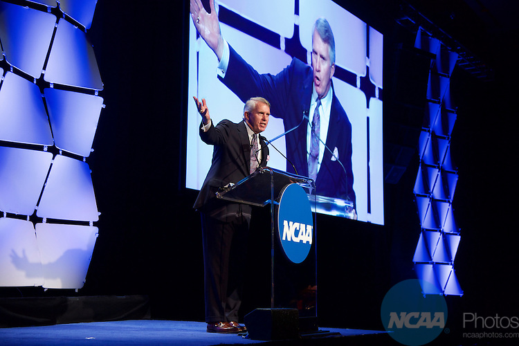 15 JAN 2016:  The NCAA Honor's Celebration takes place during the 2016 NCAA Convention at the Grand Hyatt San Antonio in San Antonio, TX.   Jamie Schwaberow/NCAA Photos  (Pictured:  Jack Ford)