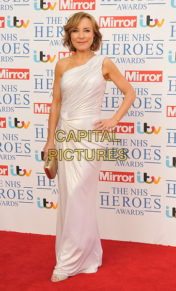 Sian Williams at the NHS Heroes Awards 2018, London Hilton on Park Lane Hotel, Park Lane, London, England, UK, on Monday 14 May 2018.<br /> CAP/CAN<br /> &copy;CAN/Capital Pictures