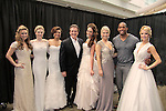 Guiding Light's Frank Dicopoulos & Lawrence Saint Victor (now Bold and The Beautiful) are hosts at the Pittsburgh, PA Bridal Showcase and Women's Expo pose with brides to be with Exquisite Bride and Sorrell wedding dresses on March 21 and 22, 2015 at the David Lawrence Convention Center. The actors were there to benefit Young Women's Breast Cancer Awareness Foundation. On Friday preceeding they appeared at Chicos at the Galleria Mall in Mt. Lebanon, Pa. The actors signed, posed with brides from Fashions by Exquisite Bride and Sorelle and more. (Photos by Sue Coflin)