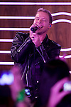 """Brian Littrell of the Backstreet Boys attends a fan meeting performance concert during their new music album """"In A World Like This"""" presentation at 40 Principales Cafe on November 12, 2013 in Madrid, Spain. (ALTERPHOTOS/Victor Blanco)"""