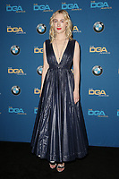 BEVERLY HILLS, CA - FEBRUARY 3: Saoirse Ronan   in the press room at the 70th Annual Directors Guild of America Awards (DGA, DGAs),  at The Beverly Hilton Hotel in Beverly Hills, California on February 3, 2018.  <br /> CAP/MPI/FS<br /> &copy;FS/Capital Pictures