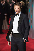 London, UK. 14 February 2016. Max Irons. Red carpet arrivals for the 69th EE British Academy Film Awards, BAFTAs, at the Royal Opera House. © Vibrant Pictures/Alamy Live News