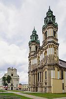 Barocke Klosterkirche Maria Himmelfahrt in Kreszow (Gr&uuml;ssau), Woiwodschaft Niederschlesien (Wojew&oacute;dztwo dolnośląskie), Polen, Europa<br /> Baroque church Assumption of Mary in Kreszow, Poland, Europe