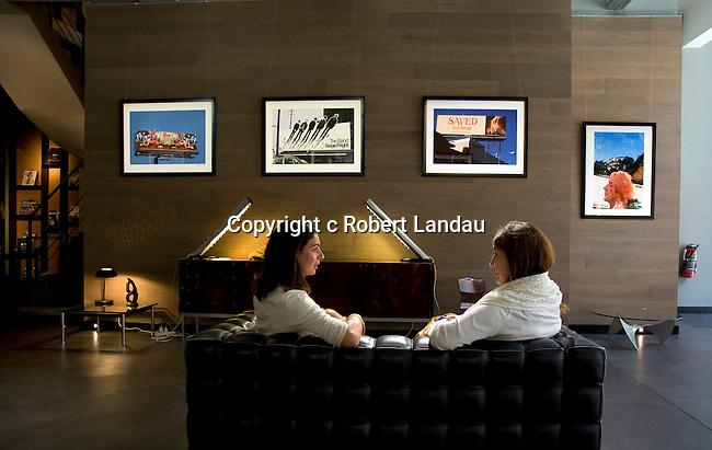Robert Landau with Benedicte Supplis