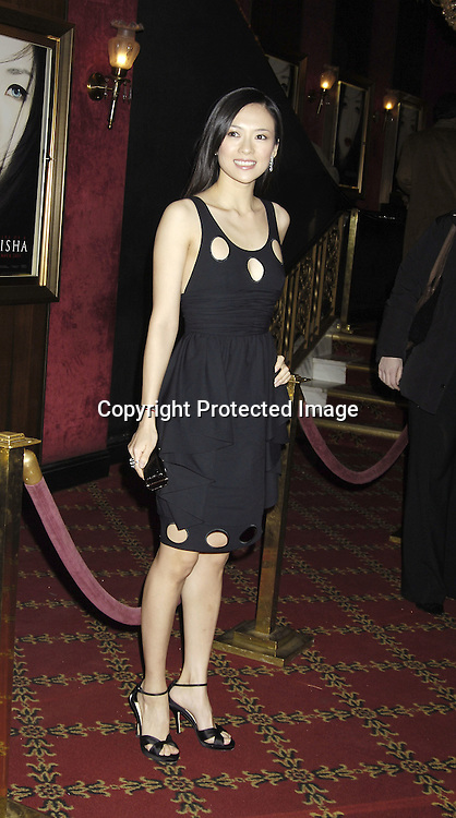 "Actress Ziyi Zhang ..arriving at The New York Premiere of "" Memoirs Of A Geisha ""  on December 6. 2005 at The Ziegfeld Theatre...Photo by Robin Platzer, Twin Images.."