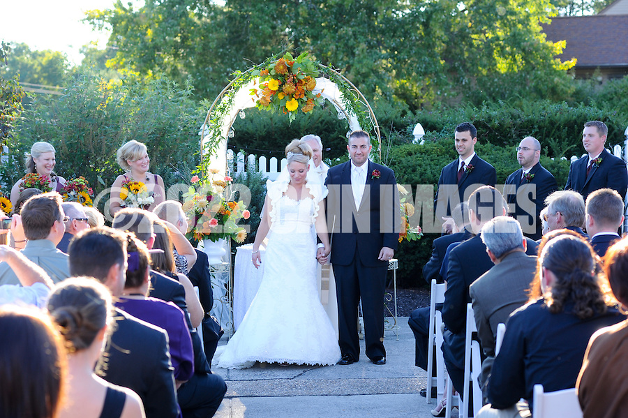 Corrie & Anthony - October 2, 2010 in Collegeville, Pennsylvania. (Photo by William Thomas Cain/cainimages.com)