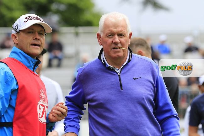 Gerry McIlroy during Wednesday's Pro-Am of the 2016 Dubai Duty Free Irish Open hosted by Rory Foundation held at the K Club, Straffan, Co.Kildare, Ireland. 18th May 2016.<br /> Picture: Eoin Clarke | Golffile<br /> <br /> <br /> All photos usage must carry mandatory copyright credit (&copy; Golffile | Eoin Clarke)