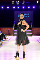 Deranged Fashions, New Zealand Eco Fashion Exposed Maintain &amp; Sustain at Notre Dame Performing Arts Centre, Lower Hutt, New Zealand on Friday 25 July 2014. <br /> Photo by Masanori Udagawa. <br /> www.photowellington.photoshelter.com.
