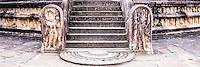 Ancient City of Polonnaruwa, panoramic photo of the Vatadage (Circular Relic House) in Polonnaruwa Quadrangle, UNESCO World Heritage Site, Sri Lanka, Asia. This is a panoramic photo of the Vatadage (Circular Relic House) in Polonnaruwa Quadrangle at the Ancient City of Polonnaruwa, a UNESCO World Heritage Site in Sri Lanka, Asia.