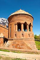 Bayindir Mosque Prayer room. Built in 1492 as the tomb of Turcoman chief Bayindir. Ahlat, Lake Van, Turkey 2