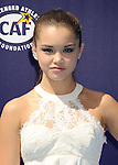 WESTWOOD, CA- SEPTEMBER 07: Actress Paris Berelc arrives at the Los Angeles premiere of 'Dolphin Tale 2' at Regency Village Theatre on September 7, 2014 in Westwood, California.