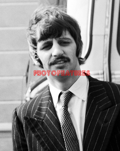 Beatles 1967 Ringo Starr during Magical Mystery Tour