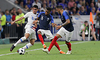 Lyon, France - Saturday June 09, 2018: Joe Corona during an international friendly match between the men's national teams of the United States (USA) and France (FRA) at Groupama Stadium.