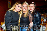 Catherine Lynch celebrating her birthday in Ristorante Uno on Saturday.<br /> L to r: Amy O'Connor, Catherine and Charlene Lynch.