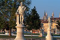 Prato della Valle, Padua, Venetien-Friaul, Italien