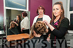North Kerry College Hair Salon: Stacey Kelly,Listowel have her done by hair dresser Loraine Fitzmaurice under the supervision of Michelle Roche.