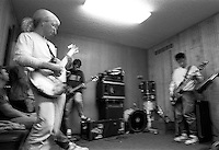 Jason Hammond, Tim Monroe, Donn Rossington at Breakaway band practice.<br />