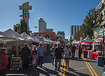 Steven Valentine and Patricia Glover from Fernley, center, walk through the 35th Annual Eldorado Great Italian Festival held in downtown Reno on Saturday, October 8, 2016.
