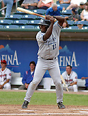 August 31, 2003:  Gilberto Mejia of the West Michigan White Caps, Class-A affiliate of the Detroit Tigers, during a Midwest League game at Oldsmobile Park in Lansing, MI.  Photo by:  Mike Janes/Four Seam Images