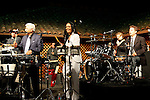 May 30, 2009:  Pete Escovedo and Sheila E at 'Rhythm on the Vine' charity event to benefit Shriners Children Hospital held at  the Gainey Vineyard in Santa Ynez, California..Photo by Nina Prommer/Milestone Photo