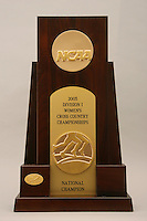 8 December 2005: A photo of the NCAA Cross Country National Championship trophy from the NCAA Cross Country Championships in Terre Haute, IN.