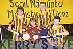 HURLING SKILS: The Abbeydorney NS hurling skill team winners of the Kerry Primary Schools Hurling Skills l-r: Oisin Mausell, Caoimhe Spillane (4th in girls competition), Cillian Spillane (individual skills winner) and Owen McCarthy...
