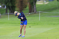 Charley Hull (ENG) plays her 2nd shot on the 7th hole during Wednesday's Pro-Am Day of The Evian Championship 2017, the final Major of the ladies season, held at Evian Resort Golf Club, Evian-les-Bains, France. 13th September 2017.<br /> Picture: Eoin Clarke | Golffile<br /> <br /> <br /> All photos usage must carry mandatory copyright credit (&copy; Golffile | Eoin Clarke)
