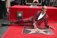 MAR 16 RuPaul Honored At The Hollywood Walk Of Fame
