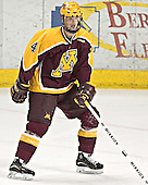 PJ Atherton - The University of Minnesota Golden Gophers defeated the University of North Dakota Fighting Sioux 4-3 on Saturday, December 10, 2005 completing a weekend sweep of the Fighting Sioux at the Ralph Engelstad Arena in Grand Forks, North Dakota.