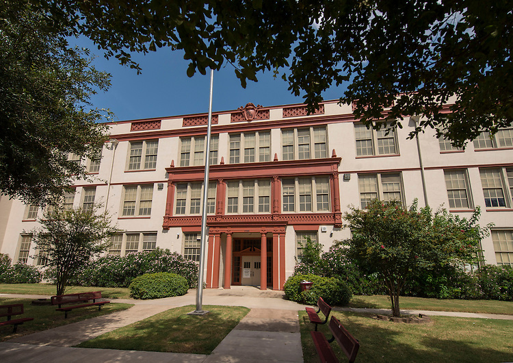 Original Wheatley / E.O. Smith High School, August 22, 2014.