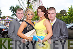 Having a wonderful time at the Causeway Comprehensive School Debs at the Brandon Hotel on Thursday were l-r  Paudie Godley, Megan O'Connor, Michaela Kavanagh, Andrew Nyhan