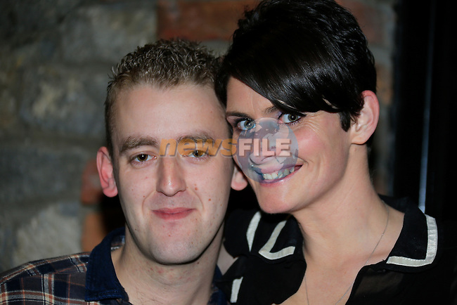 Cian Nulty And Vickey Behan  out and about in town.<br /> Picture www.newsfile.ie