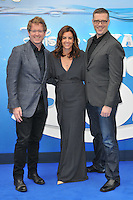 Andrew Stanton, Lindsey Collins &amp; Angus MacLane at the &quot;Finding Dory&quot; UK film premiere, Odeon Leicester Square cinema, Leicester Square, London, England, UK, on Sunday 10 July 2016.<br /> CAP/CAN<br /> &copy;CAN/Capital Pictures ***USA and South America Only**