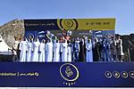 Sonny Colbrelli (ITA) Bahrain-Merida wins Stage 4 The Municipality Stage of the Dubai Tour 2018 the Dubai Tour&rsquo;s 5th edition, running 172km from Skydive Dubai to Hatta Dam, Dubai, United Arab Emirates. 9th February 2018.<br /> Picture: LaPresse/Fabio Ferrari | Cyclefile<br /> <br /> <br /> All photos usage must carry mandatory copyright credit (&copy; Cyclefile | LaPresse/Fabio Ferrari)