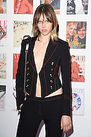 Edie Campbell<br /> arrives for the Vogue 100 Gala Dinner held in Kensington Gardens, London.<br /> <br /> <br /> ©Ash Knotek  D3122  23/05/2016