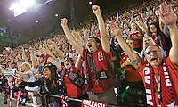 Portland, OR - Sunday Sept. 11, 2016: Fans during a regular season National Women's Soccer League (NWSL) match between the Portland Thorns FC and the Western New York Flash at Providence Park.