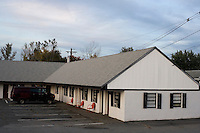 An exterior view of Motel Caswell in Tewksbury, Massachusetts, USA, on Tuesday, Oct. 11, 2011. The motel is owned by Russell Caswell. Caswell's father built the motel in the 1950s. Now, conservative activitists are trying to use federal asset-forfeiture laws to seize the motel, saying that the motel is used by drug dealers to conduct business.  The legal challenge intends to show evidence tying the property to crimes in order to seize the motel.<br /> <br /> <br /> CREDIT: M. Scott Brauer for the Wall Street Journal<br /> slug: FORFEIT