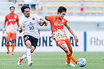 Jeju United Midfielder Kwon Soonhyung (R) fights for the ball with Urawa Reds Forward Kohrogi Shinzoh (L) during the AFC Champions League 2017 Round of 16 match between Jeju United FC (KOR) vs Urawa Red Diamonds (JPN) at the Jeju Sports Complex on 24 May 2017 in Jeju, South Korea. Photo by Yu Chun Christopher Wong / Power Sport Images