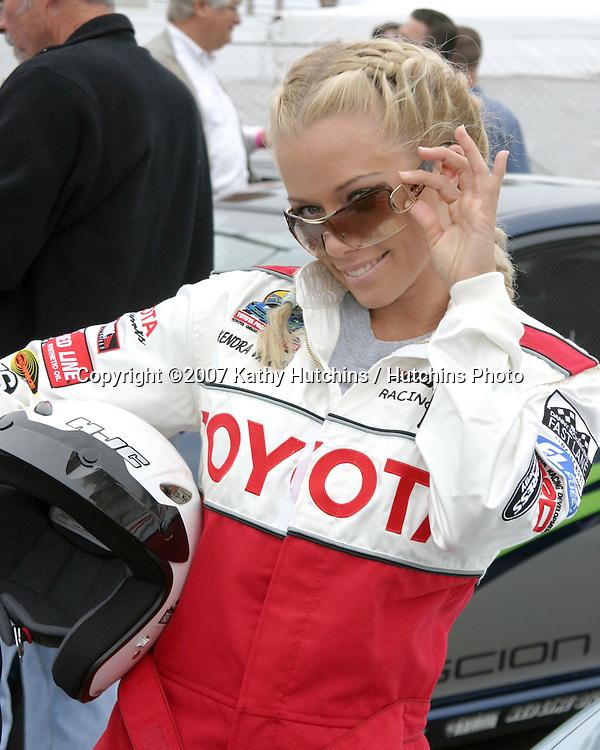 Kendra Wilkinson.Toyota Grand Prix Pro Celebrity Race Press Day.Long Beach, CA.April 3, 2007.©2007 Kathy Hutchins / Hutchins Photo....