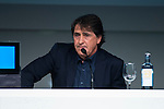 "Tv Host Raul Garcia during the presentation of the new tv program #0 of Movistar+ ""Caos FC"" at Ciudad del Futbol of Las Rozas in Madrid. November 21, Spain. 2016. (ALTERPHOTOS/BorjaB.Hojas)"