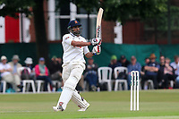 Ravi Bopara hits four runs for Essex during Surrey CCC vs Essex CCC, Specsavers County Championship Division 1 Cricket at Guildford CC, The Sports Ground on 10th June 2017