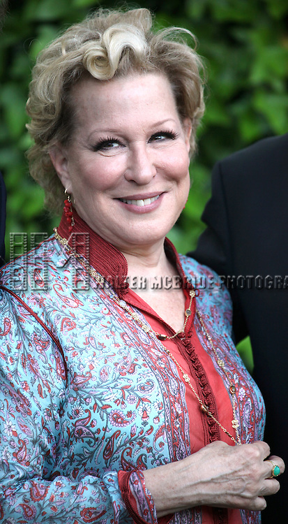 Bette Midler attends the 12th Annual Spring Picnic Celebrating the Bette Midler New York Restoration Project's 18th Anniversary at Gracie Mansion in New York City on May 30th, 2013