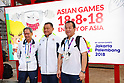 Asian Games 2018: Welcome Ceremony for Japanese delegation
