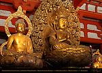 Dainichi Nyorai Cosmic Buddha and Diamond World Buddhas, Mikkyo Sculpture Mandala, Kodo Lecture Hall, Toji East Temple, Kyoto, Japan