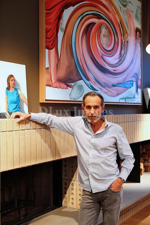 American painter, printmaker, and stage designer, David Salle